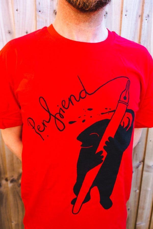 Red Penfriend tee